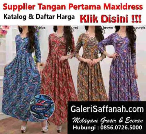 Supplier Maxidress Sidoarjo